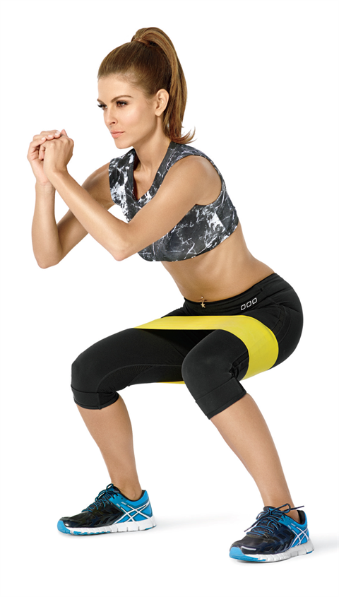 Hipster™ Exercise Band - Featured by Maria Menounos in Shape Magazine's October 2014 Issue!