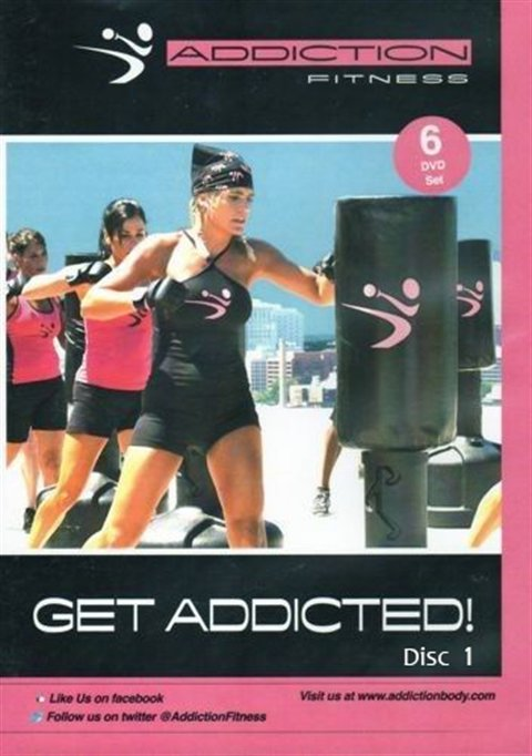 Addiction Fitness - Get Addicted!  Instruction (first disc in 6-disc set)
